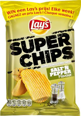 Lay's chips Zout & Peper 20 x 45gr