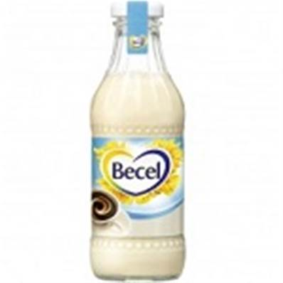 Becel melk in fles (glas) 12 x 200 ml